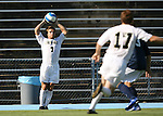 2 September 2007: Wake Forest's Cline Beam (7). The Wake Forest University Demon Deacons defeated the Monmouth University Hawks 2-0 at Fetzer Field in Chapel Hill, North Carolina in an NCAA Division I Men's Soccer game.