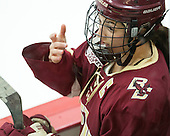 Dana Trivigno (BC - 8) - The visiting Boston College Eagles defeated the Harvard University Crimson 2-0 on Tuesday, January 19, 2016, at Bright-Landry Hockey Center in Boston, Massachusetts.
