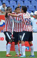 Atletico Junior v.s. Deportivo Independiente Medellin, 10-11-2013