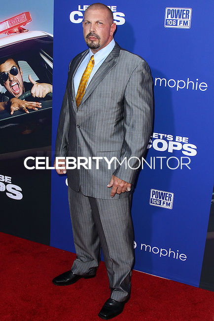 "HOLLYWOOD, LOS ANGELES, CA, USA - AUGUST 07: Matthew Wiese at the Los Angeles Premiere Of 20th Century Fox's ""Let's Be Cops"" held at ArcLight Cinemas Cinerama Dome on August 7, 2014 in Hollywood, Los Angeles, California, United States. (Photo by Xavier Collin/Celebrity Monitor)"