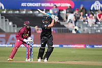 Colin de Grandhomme (New Zealand) drives into the on side during West Indies vs New Zealand, ICC World Cup Warm-Up Match Cricket at the Bristol County Ground on 28th May 2019