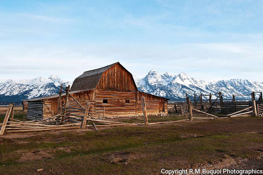Mormon Barn in Grand Teton NP