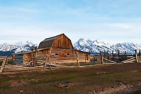 Mormon Barn in Grand Teton NP