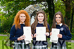 Pictured at the Presentation Secondary school, Tralee, graduation on Friday Students l-r Muireann Keating,Nora Kearney and Clara Heinrich