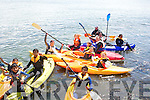 CANOEING: In training as part of the Tralee Sailing Club Open Day at Fenit Pier on Sunday were they introuduced children to canoeing on Sunday........