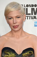 "Michelle Williams<br /> at the London Film Festival premiere for ""Manchester by the Sea"" at the Odeon Leicester Square, London.<br /> <br /> <br /> ©Ash Knotek  D3164  08/10/2016"