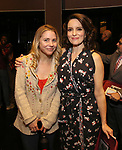 "Kerry Butler and Tina Fey during the Actors' Equity Opening Night Gypsy Robe Ceremony honoring Brendon Stimson for ""Mean Girls"" at the August Wilson Theatre Theatre on April 8, 2018 in New York City."