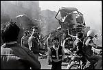 Downtown Tehran after days of violence. December 30, 1978.