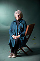 A S Byatt, writer and author  at The Edinburgh International Book Festival 2011.  Credit Geraint Lewis