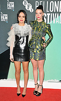 Olivia Cooke and Anya Taylor-Joy at the &quot;Thoroughbreds&quot; 61st BFI LFF Official Competition screening, Embankment Garden Cinema, Villiers Street, London, England, UK, on Monday 09 October 2017.<br /> CAP/CAN<br /> &copy;CAN/Capital Pictures