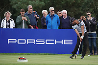 Pablo Larrazabal (ESP) during the third round of the Porsche European Open , Green Eagle Golf Club, Hamburg, Germany. 07/09/2019<br /> Picture: Golffile | Phil Inglis<br /> <br /> <br /> All photo usage must carry mandatory copyright credit (© Golffile | Phil Inglis)