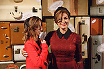 Right - Actress and designer Eva Mendes posing with motivational speaker Lizzie Velasquez after her Eva Mendes for New York & Company Spring Summer 2017 fashion show, on September 6 2016, at Academy Mansion during New York Fashion Week Spring Summer 2017.