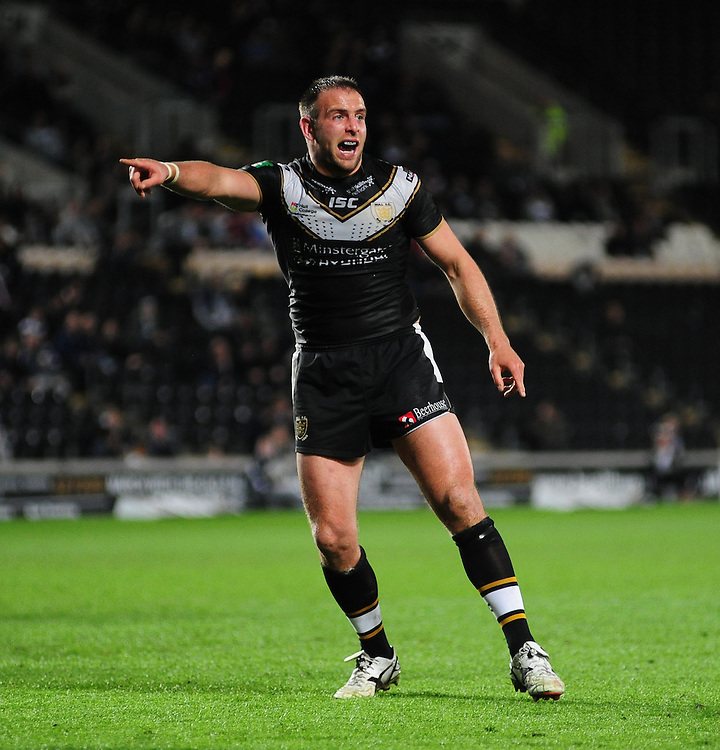 Hull FC's Andy Lynch .. - (Photo by Chris Vaughan/CameraSport) - ..Rugby League - Stobart Super League - Hull FC v London Broncos - Friday 3rd May 2013 - Kingston Communications Stadium - Hull.© CameraSport - 43 Linden Ave. Countesthorpe. Leicester. England. LE8 5PG - Tel: +44 (0) 116 277 4147 - admin@camerasport.com - www.camerasport.com
