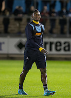 Aaron Pierre of Wycombe Wanderers who serves a one match suspension during the Sky Bet League 2 rearranged match between Bristol Rovers and Wycombe Wanderers at the Memorial Stadium, Bristol, England on 1 December 2015. Photo by Andy Rowland.