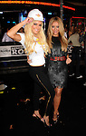 HOLLYWOOD, CA. - October 21: Bridget Marquardt and Aubrey O'Day arrive at the Hard Rock Cafe - Hollywood - Grand Opening on October 21, 2010 in Hollywood, California.