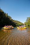 The Foothill Conservancy and OARS run a special raft and paddle trip on the Electra Run to Middle Bar on the Mokelumne River, Amador County, Calif.