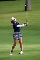 Marina Alex (USA) in action on the 2nd during Round 3 of the HSBC Womens Champions 2018 at Sentosa Golf Club on the Saturday 3rd March 2018.<br /> Picture:  Thos Caffrey / www.golffile.ie<br /> <br /> All photo usage must carry mandatory copyright credit (&copy; Golffile   Thos Caffrey)