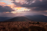September sunrise over Jane Bald, Roan Highlands