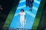 Real Madrid's player Marcelo during the celebration of the victory of the Real Madrid Champions League at Santiago Bernabeu in Madrid. May 29. 2016. (ALTERPHOTOS/Borja B.Hojas)