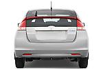 Straight rear view of a 2010 Honda Insight