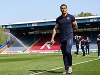 Bolton Wanderers' Josh Magennis pictured before the match <br /> <br /> Photographer Andrew Kearns/CameraSport<br /> <br /> The EFL Sky Bet Championship - Blackburn Rovers v Bolton Wanderers - Monday 22nd April 2019 - Ewood Park - Blackburn<br /> <br /> World Copyright © 2019 CameraSport. All rights reserved. 43 Linden Ave. Countesthorpe. Leicester. England. LE8 5PG - Tel: +44 (0) 116 277 4147 - admin@camerasport.com - www.camerasport.com