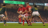 Wales' Tomas Francis looks for a way through<br /> <br /> Photographer Ian Cook/CameraSport<br /> <br /> Under Armour Series Autumn Internationals - Wales v South Africa - Saturday 24th November 2018 - Principality Stadium - Cardiff<br /> <br /> World Copyright &copy; 2018 CameraSport. All rights reserved. 43 Linden Ave. Countesthorpe. Leicester. England. LE8 5PG - Tel: +44 (0) 116 277 4147 - admin@camerasport.com - www.camerasport.com