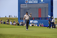 Brandon Stone (RSA) finishes on the 18th green during Thursday's Round 1 of the Dubai Duty Free Irish Open 2019, held at Lahinch Golf Club, Lahinch, Ireland. 4th July 2019.<br /> Picture: Eoin Clarke | Golffile<br /> <br /> <br /> All photos usage must carry mandatory copyright credit (© Golffile | Eoin Clarke)