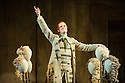 English National Opera presents THE BARBER OF SEVILLE, by Gioachino Rossini, directed by Jonathan Miller, at the London Coliseum. Picture shows: Morgan Pearse (Figaro).