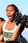 Manhattan Beach, CA 10/27/11 - Peninsula Song & Cheer  in action during the Leuzinger vs Peninsula JV football game.