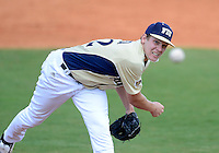 Florida International University right handed pitcher John Costa (22) plays against Florida Atlantic University. FAU won the game 9-3 on March 18, 2012 at Miami, Florida.