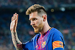 Lionel Andres Messi of FC Barcelona gestures during the La Liga 2017-18 match between FC Barcelona and SD Eibar at Camp Nou on 19 September 2017 in Barcelona, Spain. Photo by Vicens Gimenez / Power Sport Images