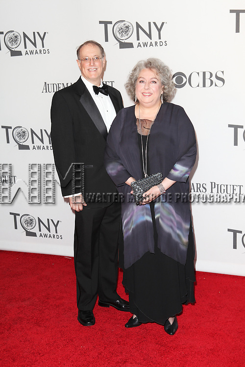 Jayne Houdyshell pictured at the 66th Annual Tony Awards held at The Beacon Theatre in New York City , New York on June 10, 2012. © Walter McBride / WM Photography
