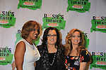 Gayle King poses with All My Children Rosie O'Donnell and wife Michelle Rounds host her Annual BUILDING DREAMS FOR KIDS GALA on October 15, 2012 at the New York Marriott Marquis. The event raised $850.000. An online auction still going on. Rosie's Theater Kids is an arts education organization dedicated to enrighing the lives of children through the art.   (Photo by Sue Coflin/Max Photos)