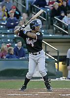 May 28, 2004:  Wilson Delgado of the Norfolk Tides, Triple-A International League affiliate of the New York Mets, during a game at Frontier Field in Rochester, NY.  Photo by:  Mike Janes/Four Seam Images