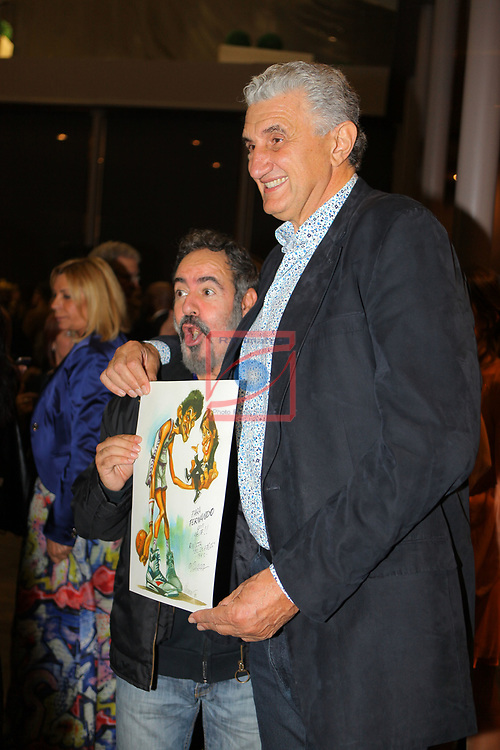 XIV Sopar Solidari de Nadal.<br /> Esport Solidari Internacional-ESI.<br /> Joan Vizcarra & Fernando Romay.