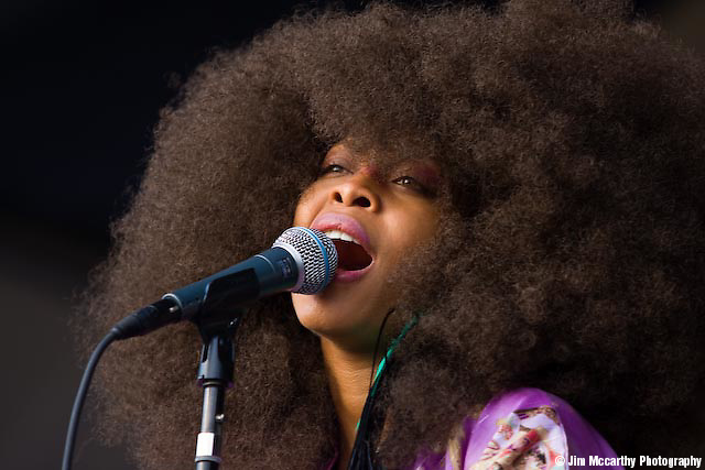Erykah Badu at Jazz Fest 2009