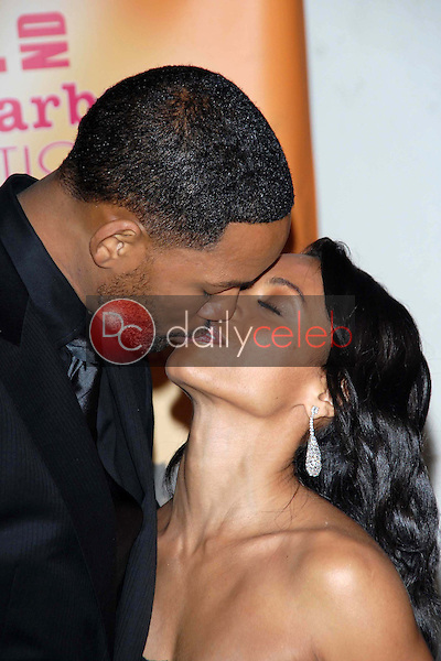 Will Smith and Jada Pinkett Smith<br />