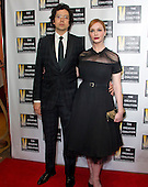 Geoffrey Arend of &quot;Madame Secretary&quot; and Christina Hendricks of &quot;Mad Men&quot; arrive for the Creative Coalition Inaugural Ball for the Arts at the Harman Center for the Arts in Washington, DC on Friday, January 20, 2017.<br /> Credit: Ron Sachs / CNP________ arrives for the Creative Coalition Inaugural Ball for the Arts at the Harman Center for the Arts in Washington, DC on Friday, January 20, 2017.<br /> Credit: Ron Sachs / CNP<br /> (RESTRICTION: NO New York or New Jersey Newspapers or newspapers within a 75 mile radius of New York City)