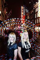 Amsterdam, november 27, 2013<br /> International Documentary Film Festival Amsterdam<br /> IDFA<br /> Kitty Green (left) and Inna Shevchenko (Femen)<br /> 'Ukraine is Not a Brothel'<br /> Photo by Felix Kalkman