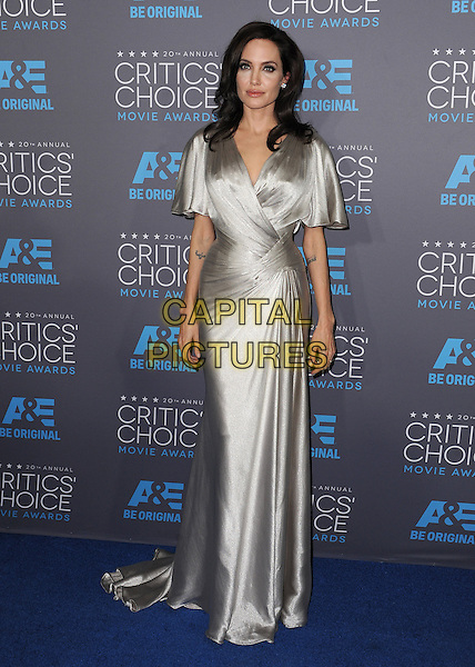 LOS ANGELES, CA - JANUARY 15:  Angelina Jolie at the 20th Annual Critics' Choice Movie Awards at the Hollywood Palladium on January 15, 2015 in Los Angeles, California.  <br /> CAP/MPI/PGSK<br /> &copy;PGSK/MediaPunch/Capital Pictures