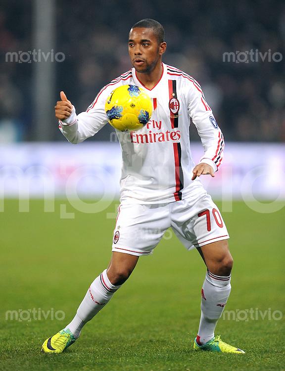 FUSSBALL INTERNATIONAL   SERIE A   SAISON 2011/2012    Genua - AC Mailand   02.12.2011 Robinho (AC Mailand)