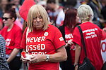 "© Joel Goodman - 07973 332324 . 23/08/2014 .  Manchester , UK . He's never kissed a Tory . The parade through Manchester City Centre . Manchester Pride "" Big Weekend "" in Manchester "" today ( 23rd August 2014 ) . Photo credit : Joel Goodman"
