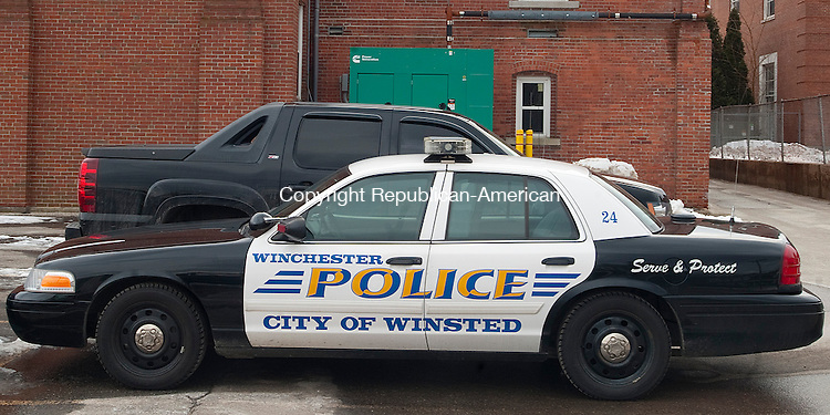 WINSTED, CT-012014JS01- Some capital improvements proposed by the Winsted new capital  committee's top priorities are new police cruisers, repaving the parking lot at the Blanche McCarthy Senior Center, replacing the roof on the Prospect Street fire  house as well as road improvements and maintenance.  Jim Shannon Republican-American