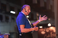 SAO PAULO, SP - 15.02.2019 - CAMPUS PARTY - O engenheiro da NASA, George Gabrielle, conhecido como &quot;gabe&quot; durante a Campus Party nesta sexta-feira (15) no Expo Center Norte na zona norte de Sao Paulo.<br /> <br /> (Foto: Fabricio Bomjardim / Brazil Photo Press / Folhapress)