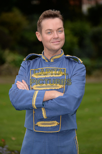 Stephen Mulhern as character Buttons in 'Cinderalla' pantomime photocall at The Fairfield Halls, on September 24, 2015 in Croydon, Surrey, England, <br /> CAP/DH<br /> &copy;David Hitchens/Capital Pictures