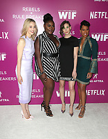 12 May 2018 - Los Angeles, California - Sarah Gadon, Danielle Brooks, Alison Brie, Regina King. Netflix FYESEE Rebels and Rule Breakers Event.   <br /> CAP/ADM/FS<br /> &copy;FS/ADM/Capital Pictures