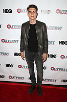 "WEST HOLLYWOOD, CA July 11- Nolan Gerard Funk,  At 2017 Outfest Los Angeles LGBT Film Festival Screening of ""Hello Again"" at The DGA Theater, California on July 11, 2017. Credit: Faye Sadou/MediaPunch"