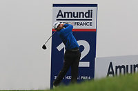 Liam Johnston (SCO) on the 12th tee during Round 4 of the Amundi Open de France 2019 at Le Golf National, Versailles, France 20/10/2019.<br /> Picture Thos Caffrey / Golffile.ie<br /> <br /> All photo usage must carry mandatory copyright credit (© Golffile | Thos Caffrey)