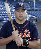 September 2, 2004:  Zac Clements of the Binghamton Mets, Eastern League (AA) affiliate of the New York Mets, during a game at NYSEG Stadium in Binghamton, NY.  Photo by:  Mike Janes/Four Seam Images