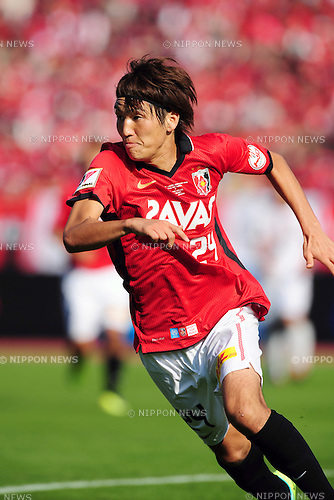 Genki Haraguchi (Reds), OCTOBER 29, 2011 - Football / Soccer : 2011 J.League Yamazaki Nabisco Cup final match between Urawa Red Diamonds 0-1 Kashima Antlers at National Stadium in Tokyo, Japan. (Photo by AFLO)